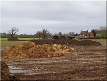 SO8843 : Muck bury and Dunstall Farm by Philip Halling