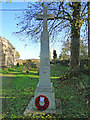 TG2626 : Swanton Abbott War Memorial by Adrian S Pye