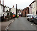 SO7225 : Joggers in Culver Street, Newent by Jaggery