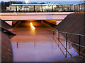 SD7806 : Boxing Day Flooding 2015 - Pilkington Way Underpass by David Dixon