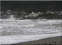 J3730 : Rough seas in the estuary of the Glen River by Eric Jones