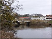 SE4843 : A659 bridge, Tadcaster by Chris Allen