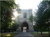 TL8564 : The Abbey Gate, Bury St. Edmunds by Oliver Mills
