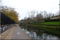 TQ2783 : Canal beside Prince Albert Road by DS Pugh