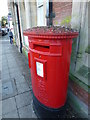 TF4609 : Guano covered pillar box in Wisbech by Richard Humphrey