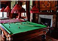 SX0863 : Lanhydrock House: The billiard room 1 by Michael Garlick