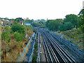TQ1887 : Jubilee Line by Robin Webster