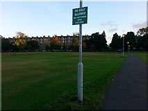NT2572 : Path across Bruntsfield Links by Clive Nicholson