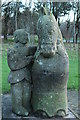NS3141 : Sculpture at Eglinton Country Park by Billy McCrorie