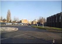 SJ9300 : Hospital Roundabout by Gordon Griffiths