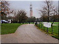 SD8304 : Heaton Park by David Dixon