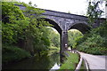 SK1172 : Disused Railway Viaduct over the River Wye by N Chadwick