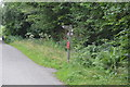 SK1172 : Footpath sign, The Monsal Trail by N Chadwick