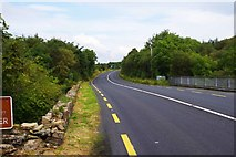 G7278 : The R263 road heading northeast, near Killybegs, Co. Donegal by P L Chadwick