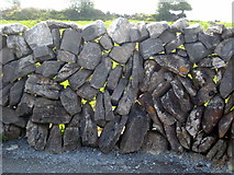 M2300 : Dry stone wall at Poulnebrone by Rod Allday