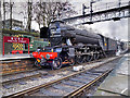 SD8010 : Flying Scotsman in Wartime Livery, Bury Bolton Street Station by David Dixon