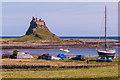 NU1241 : Lindisfarne Castle by Ian Capper