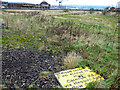 NS3075 : Brownfield site at James Watt Dock by Thomas Nugent