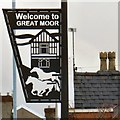 SJ9088 : Welcome to Great Moor by Gerald England