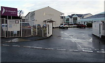 ST3091 : Entrance to St Joseph's Hospital, Malpas, Newport by Jaggery