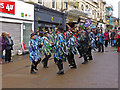 SO8505 : Morris Men - King Street, Stroud by Chris Allen