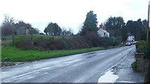 SO3951 : Kington Road, Weobley by Jonathan Billinger