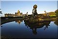 SE7169 : Atlas Fountain, Castle Howard by Ian Taylor