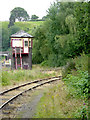 SJ9853 : Signal box at Leekbrook Junction, Staffordshire by Roger  Kidd