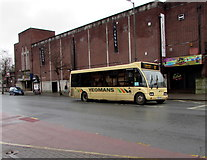 SO5140 : Yeomans bus, Commercial Road, Hereford by Jaggery