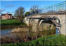 SK6515 : Rearsby Road bridge crossing the River Wreake by Mat Fascione