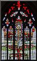 TF0075 : East window, All Saints' church, Nettleham by Julian P Guffogg
