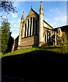 ST8599 : West side of St George's Church, Nailsworth by Jaggery