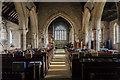 SK7957 : Interior, St Wilfred's church, South Muskham by Julian P Guffogg