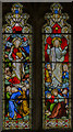 SK7957 : Stained glass window, St Wilfred's church, South Muskham by Julian P Guffogg