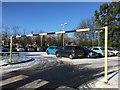 SJ8449 : Bradwell Hospital: car park by Jonathan Hutchins
