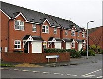 SO5140 : Huskinson Drive houses, Hereford by Jaggery