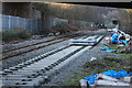 ST2198 : Ebbw Valley Railway, Crumlin by M J Roscoe