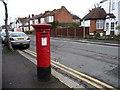 TQ3893 : Edward the Seventh post box, Chingford Avenue by Christine Johnstone