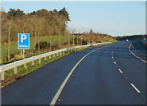 S5626 : M9 Northbound towards junction 10 by Ian S