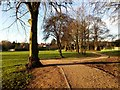 SK3516 : The path in the Bath Grounds, Ashby by Oliver Mills