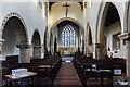 SK9059 : Interior, St Michael's church, Bassingham by Julian P Guffogg