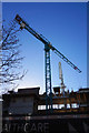 O1533 : Tower crane on York Street, Dublin by Ian S