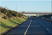 S6559 : M9 Northbound at junction 7 by Ian S