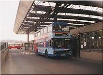 SE1632 : Bus in Bradford Interchange by Richard Vince