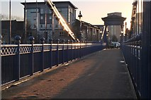 NS5964 : St Andrew's bridge, Glasgow Green by Jim Barton