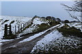 SO1902 : Track to Mynydd Pen-y-Fan from near Manmoel by M J Roscoe