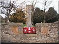 NZ2422 : War Memorial, Heighington by JThomas