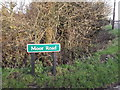TL6271 : Moor Road sign by Adrian Cable