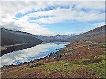 SH7157 : Reflections of Snowdonia in Llynnau Mymbyr by Steve  Fareham