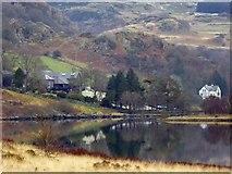 SH7157 : Plas y Brenin reflections in Llynnau Mymbyr by Steve  Fareham